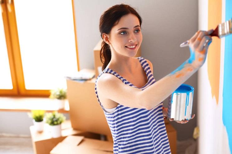 pintar paredes interiores de casa