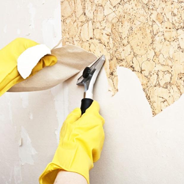 Cómo quitar el papel pintado en mal estado o viejo de la pared