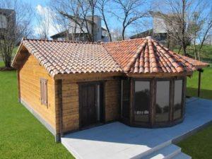 casa  prefabricada de madera en Granada