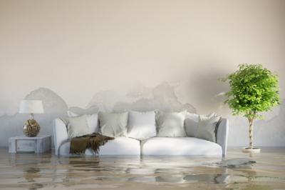 Daños causados por el agua