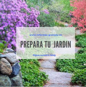 Preparar el jardin